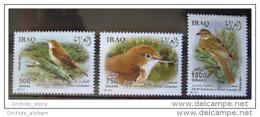 Iraq 2011 MNH - Iraqi BIRDS - Fauna - Iraq