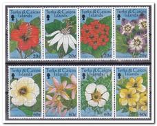 Turks & Caicos 1997, Postfris MNH, Flowers - Turks- En Caicoseilanden