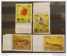 IRAQ 2010 MNH Set - International Year Of Biodiversity - Animals - Fauna - Iraq