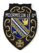 409 - ECUSSON TISSUS -  MOURMELON LE GRAND - Ecussons Tissu