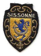 407 - ECUSSON TISSUS - SISSONE - Ecussons Tissu