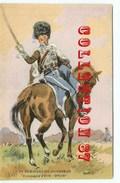N° 334 < 2e REGIMENT De HUSSARDS - OFFICIER De La COMPAGNIE D'ELITE Par MAURICE TOUSSAINT <  UNIFORME - Regimenten