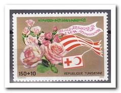 Tunesië 1988, Postfris MNH, Flowers, Red Cross - Tunesië (1956-...)