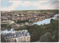 77 Vaux Le Penil Le Chateau Et Panorama Sur La Seine - Autres Communes