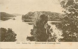 A-17.6581 :   GOLDEN BAY. STEWART ISLAND  PATERSONS INLET - Nouvelle-Zélande