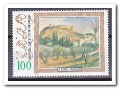 Tunesië 1984, Postfris MNH, Trees, Painting - Tunesië (1956-...)