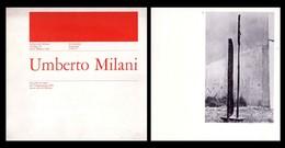 Catalogo Mostra UMBERTO MILANI. Galleria Del Milione - Milano Dal 16 Dicembre 1972 - Arte, Architettura
