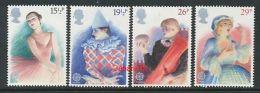 """GROßBRITANIEN Mi.Nr. 914-917 EUROPA CEPT """" Historische Ereignisse"""" 1982 - MNH - Europa-CEPT"""