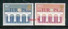 GROßBRITANIEN Mi.Nr. 988,990 EUROPA CEPT Post Und Fernmeldewesen, Brücke 1984 - MNH - Europa-CEPT