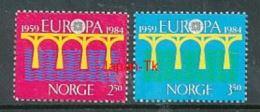 NORWEGEN Mi.Nr. 904-905  EUROPA CEPT Post Und Fernmeldewesen, Brücke 1984 - MNH - Europa-CEPT