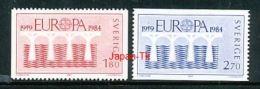 SCHWEDEN Mi.Nr. 1270-1271  EUROPA CEPT Post Und Fernmeldewesen, Brücke 1984 - MNH - Europa-CEPT