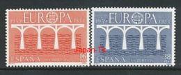 SPANIEN Mi.Nr. 2633-2634  EUROPA CEPT Post Und Fernmeldewesen, Brücke 1984 - MNH - Europa-CEPT
