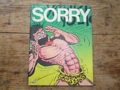 ANC. REVUE / ITALIEN / FUMETTI /  SORRY  N° 11  / ANNO  1° /     1972 - Livres, BD, Revues