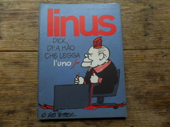 ANC. REVUE / ITALIEN / FUMETTI / LINUS  N° 4  / ANNO  12 /   APRILE   1976 - Livres, BD, Revues