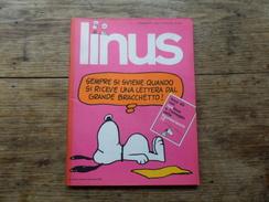 ANC. REVUE / ITALIEN / FUMETTI / LINUS  N° 80  / ANNO  7 /   NOVEMBRE   1971 - Livres, BD, Revues
