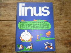 ANC. REVUE / ITALIEN / FUMETTI / LINUS  N° 6 / ANNO  9 /   GUIGNO   1973 - Livres, BD, Revues