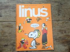 ANC. REVUE / ITALIEN / FUMETTI / LINUS  N° 65 / ANNO  6 /   AGOSTO   1970 - Livres, BD, Revues