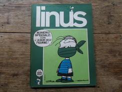 ANC. REVUE / ITALIEN / FUMETTI / LINUS  N° 73  / ANNO  7 /   APRILE  1971 - Boeken, Tijdschriften, Stripverhalen
