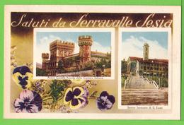 SALUTI DA SERRAVALLE SESIA ... / Carte écrite En 1953 - Other Cities