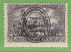 MiNr.28 (x) Falz Deutschland Deutsche Abstimmungsgebiete Allenstein - Duitsland