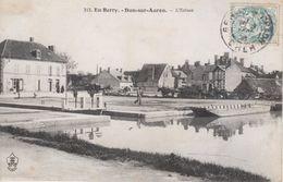 CPA - Voyagée 1906 - Dun-sur-Auron - L'écluse - FRANCO DE PORT - Dun-sur-Auron