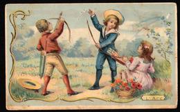 Ch. Guerin-Boutron - Les Jeux D'Enfants - L'Arc - Impr. Herold (HE2-6) - 104x64 Mm - Guérin-Boutron