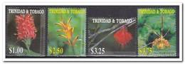 Trinidad & Tobago 2001, Postfris MNH, Flowers - Trinidad En Tobago (1962-...)