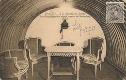 YY185 - Carte-Vue SPA G.Q.G. Allemand TP Petit Albert 2 C. Conférence Diplomatique De SPA 1920 Vers BOURG LEOPOLD - 1915-1920 Albert I