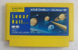 Famicom : Lunar Ball PNF-LB - Electronic Games