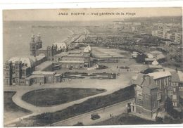 2452. DIEPPE . VUE GENERALE DE LA PLAGE . ECRITE AU VERSO LE 17-3-1918 . - Dieppe
