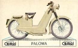 250617 -  CHROMO CHOCOLAT CEMOI - MOTO PALOMA Monomoteur BML - CYCLE TRANSPORT - Chocolat