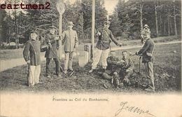 FRONTIERE AU COL DU BONHOMME DOUANE DOUANIERS 88 - France