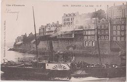 DINARD - COTE D'EMERAUDE - LA CALE - HOTEL BELLEVUE - BATEAU A ROUE -  N° 2478 - G. F. - Dinard