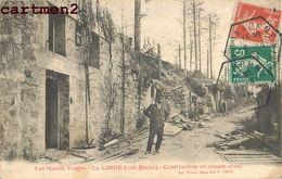 LE LINGE COTE BOCHE CONSTRUCTION EN CIMENT ARME 88 - France