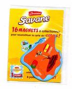 Magnet Savane  Europe  Espagne Theme Giraffe - Tourism