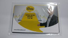 Israel-012 Mobile-sim Card Mint-(number-89972011212045218577)-new+1card Prepiad Free - Israel