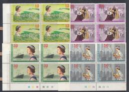 Samoa 1977 Queen Elizabeth II Silver Jubilee - MUH Blocks 4 - Samoa
