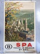 "AFFICHE ANCIENNE ""SPA""1930 - Affiches"