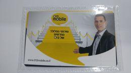 Israel-012 Mobile-sim Card Mint-(number-89972011212045218999)-new+1card Prepiad Free - Israele