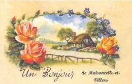 08 - ARDENNES / Fantaisie Moderne - CPM - Format 9 X 14 Cm - MAISONCELLE ET VILLERS - Autres Communes