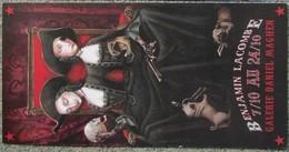 Benjamin Lacombe - 2009 - Carte D´invitation Expo - Livres, BD, Revues
