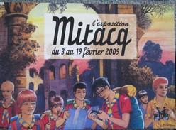 Mitacq - Patrouille Des Castors - 2009  - Carte D´invitation Expo - Livres, BD, Revues