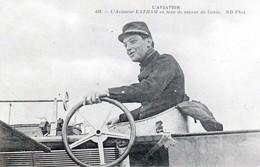 L'Aviateur LATHAM En Tenue De Sapeur Du Génie - Très Beau Portrait - - Flieger