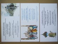 Pellerin - Dermaut - Manini - Lot De 3 Cartes Invitation Expo - Livres, BD, Revues