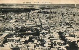 ALEP  VUE GENERALE - Syrie