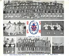ROLLER SKATING GUJAN MESTRAS  R.S.G.M.  CARTE PUBLICITAIRE FORMAT  13.50 X 11 CM - Sports