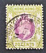 EDOUARD VII 1903 - OBLITERE - YT 96 - Hong Kong (...-1997)