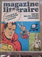 Magazine Littéraire N°9: Grandeur De La Littérature Populaire-Trotsky-Gombrowicz - Andere Sammlungen