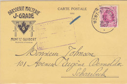 Brasserie Malterie J. Grade, Mont St Guibert, 1927, Analyse De Glucose (vente Unique) - Ambachten