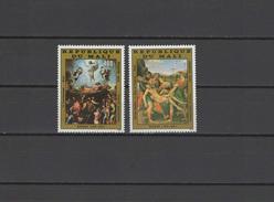 Mali 1983 Paintings Raphael - Raffael, Easter Set Of 2 MNH - Arte